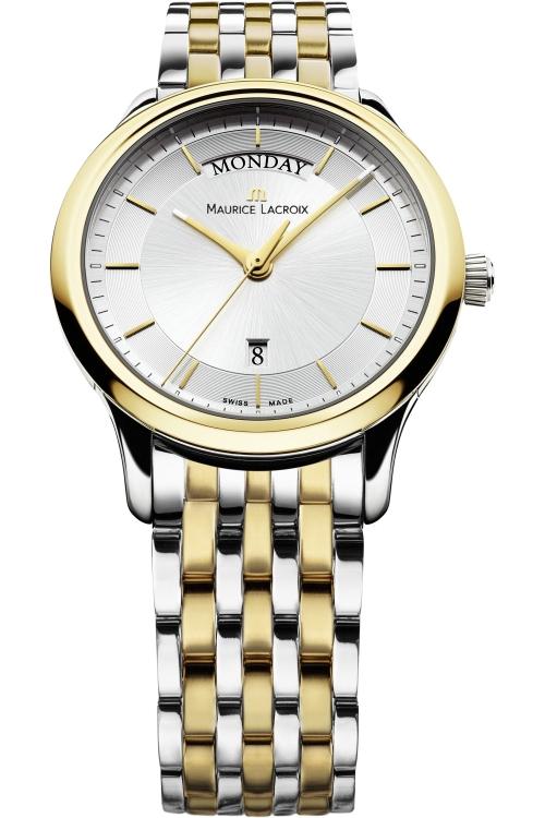 Mens Maurice Lacroix Les Classiques Day Date Automatic Watch LC1227-PVY13-130