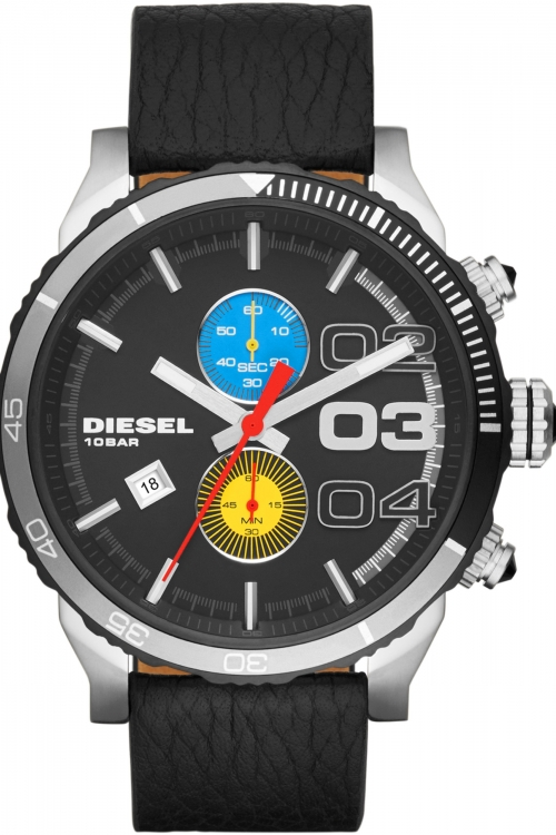 Mens Diesel Double Down 2.0 Renzo Edition Chronograph Watch DZ4331