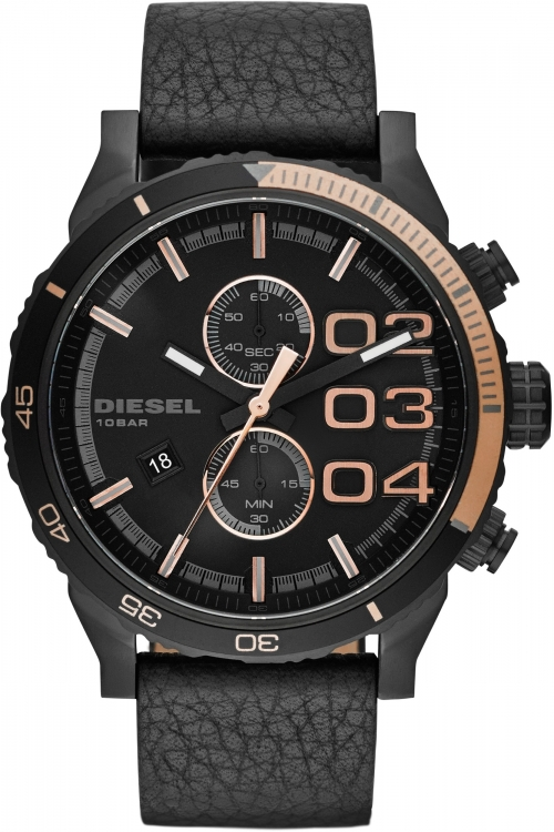 Mens Diesel Double Down 2.0 Chronograph Watch DZ4327