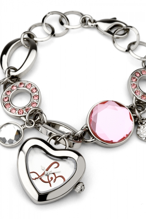 Ladies Lipsy Charm Bracelet Watch