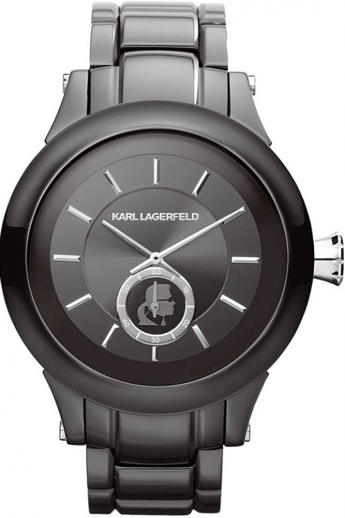 Mens Karl Lagerfeld Chain Watch KL1207