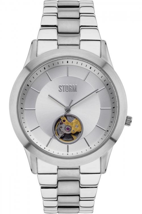 Mens Storm Sorena Automatic Watch SORENA-SILVER