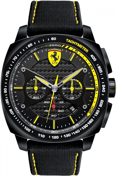 Mens Scuderia Ferrari Aero Evo Chronograph Watch 830165