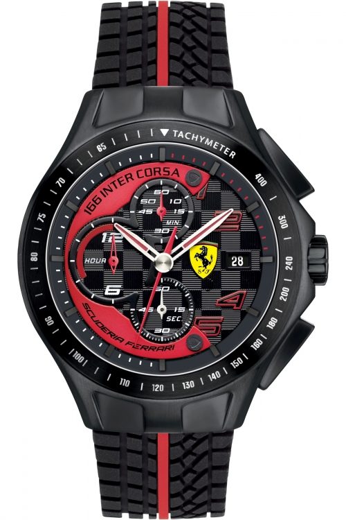 Mens Scuderia Ferrari Race Day Chronograph Watch 830077