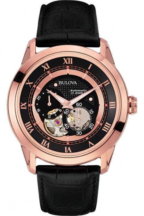 Mens Bulova Automatic Watch 97A116