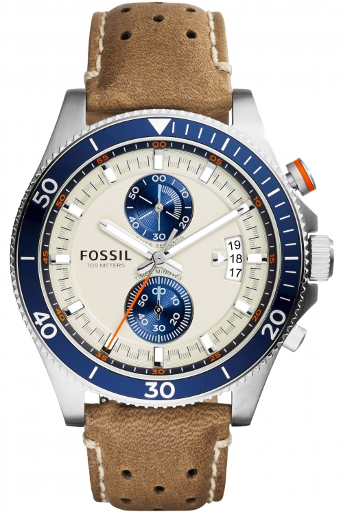 Mens Fossil Wakefield Chronograph Watch CH2951