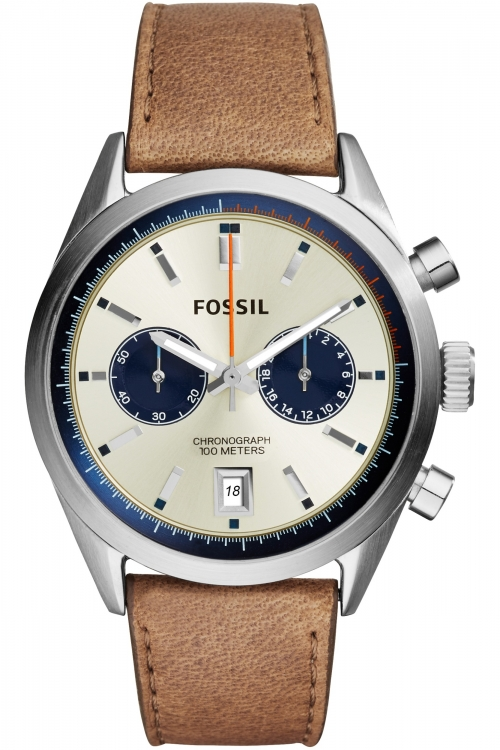 Mens Fossil Del Ray Chronograph Watch CH2952