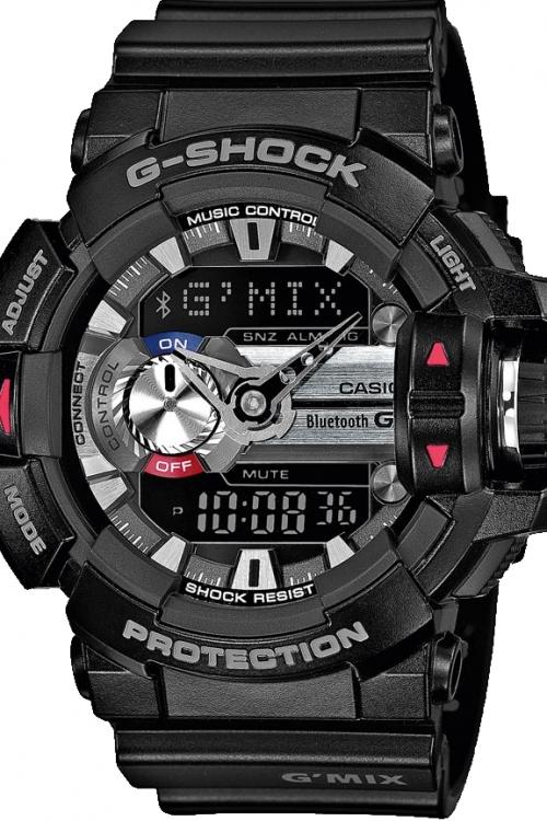 Mens Casio G-Shock G'MIX Bluetooth Alarm Chronograph Watch GBA-400-1AER