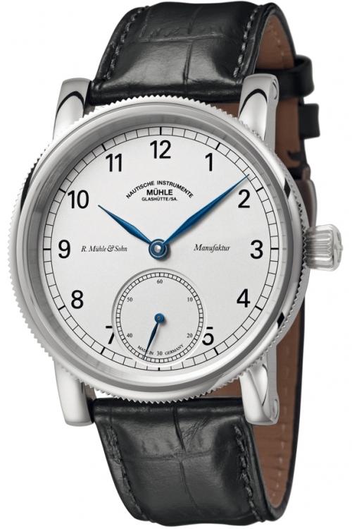 Mens Muhle Glashutte Robert Muhle Kleine Sekunde Manufacture Mechanical Watch M1-11-05-LB