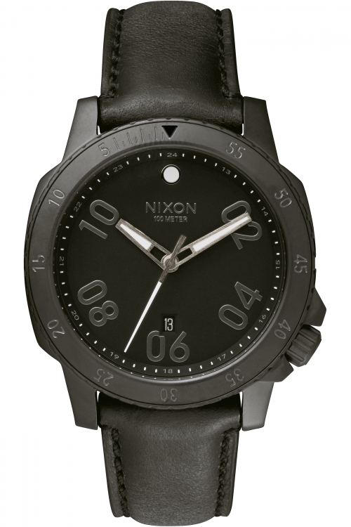 Mens Nixon The Ranger Leather Watch A508-001