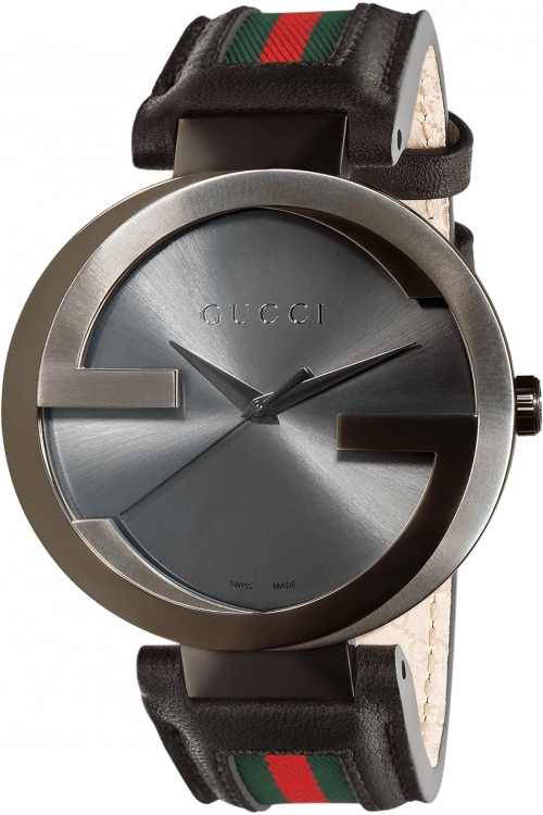 Mens Gucci Interlocking G Watch YA133206