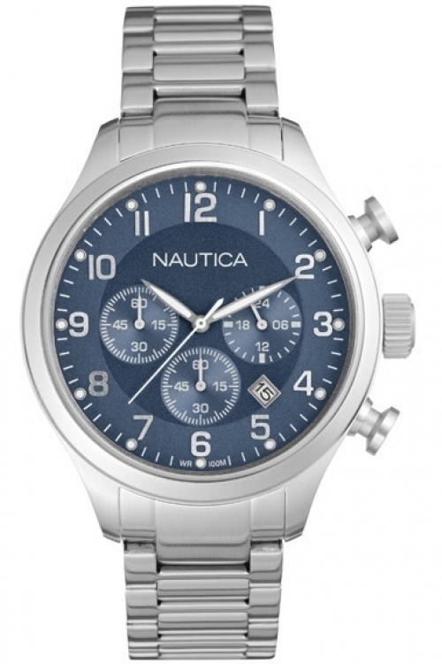 Mens Nautica BFD101 Chronograph Watch A17664G