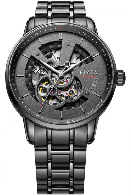 Mens Fiyta Photographer Skeleton Automatic Watch GA8486.BBB