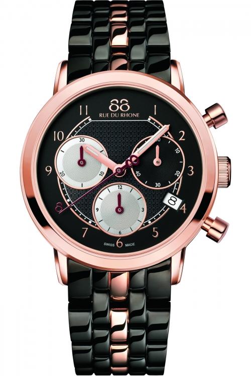 Ladies 88 Rue Du Rhone Double 8 Origin 35mm Chronograph Watch