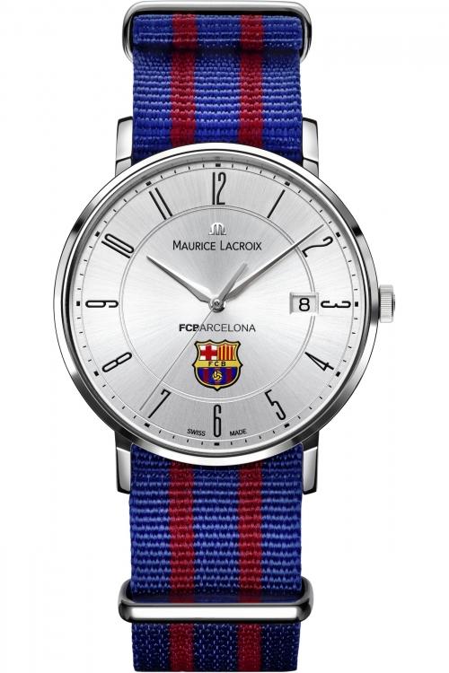 Mens Maurice Lacroix Eliros FC Barcelona Special Edition Watch EL1087-SS002-120-001
