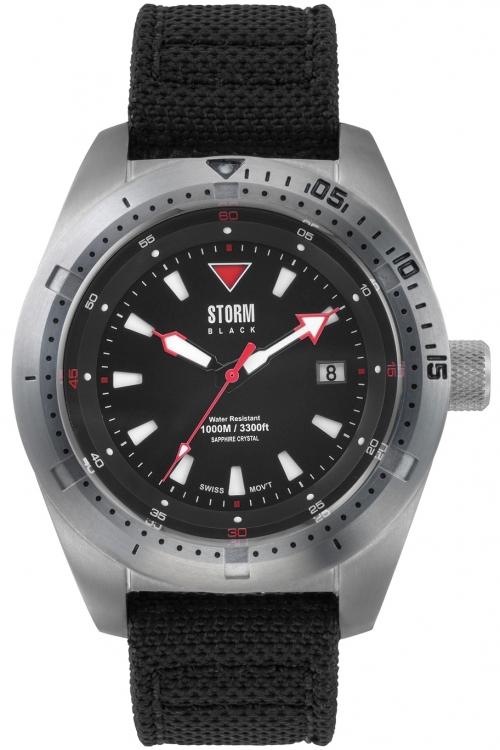 Mens Storm Aquatron Watch AQUATRON-BLACK