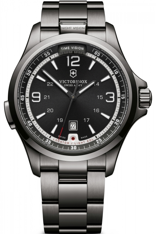 Mens Victorinox Swiss Army Night Vision Automatic Watch 241665