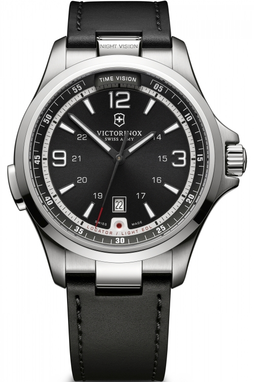 Mens Victorinox Swiss Army Night Vision Mechanical Watch 241664