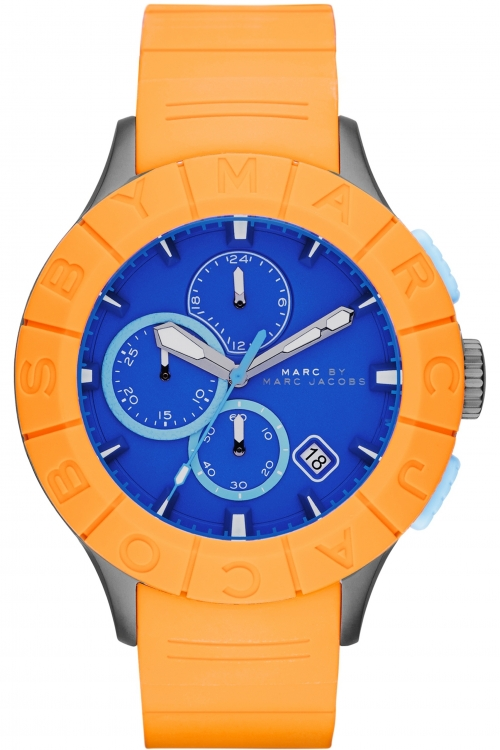 Mens Marc by Marc Jacobs Buzz Track Chronograph Watch MBM5545