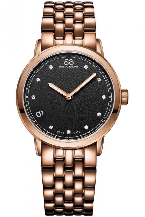 Ladies 88 Rue Du Rhone Double 8 Origin 35mm Diamond Watch