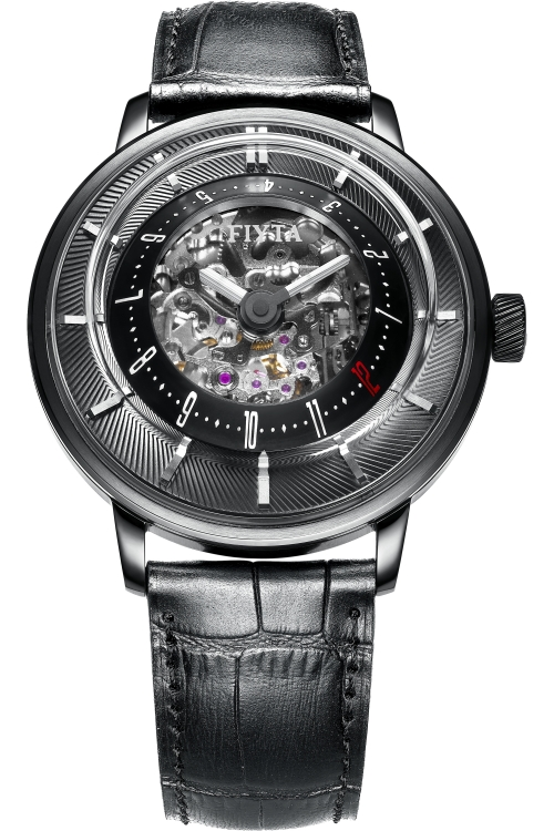 Mens Fiyta Extreme 3D Skeleton Limited Edition Automatic Watch GA8606.BBB
