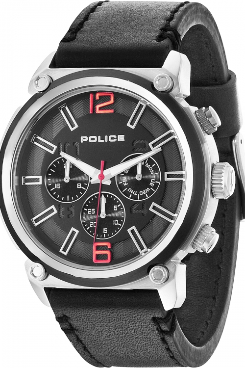 Mens Police Armor Watch 14378JSTB/02