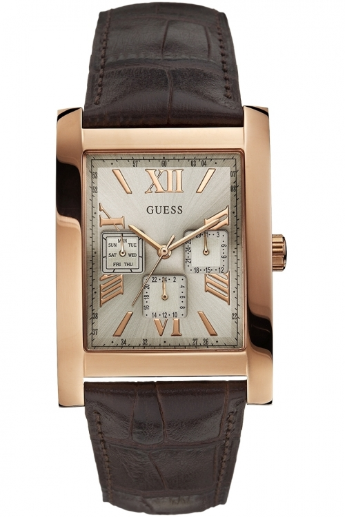 Mens Guess Voyager Watch W0370G3