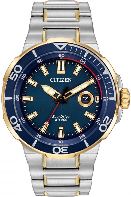 Mens Citizen Endeavor Eco-Drive Watch AW1424-54L
