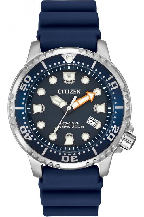 Mens Citizen Promaster Divers Eco-Drive Watch BN0151-09L