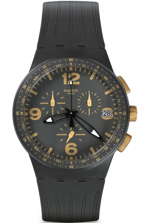 Mens Swatch Chrono Plastic - Gordon Chronograph Watch SUSA401