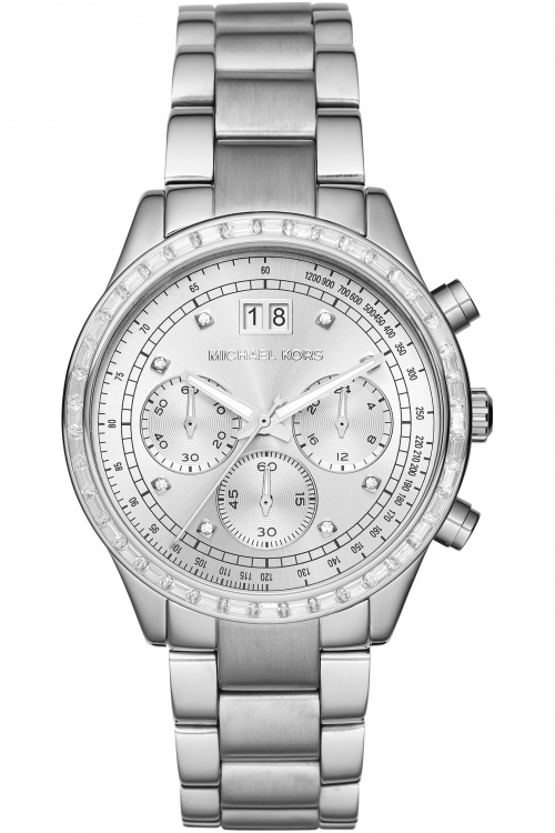 Ladies Michael Kors Brinkley Chronograph Watch