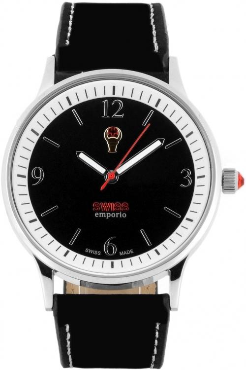 Mens SWISSemporio Zurich Watch SE01BKSL10