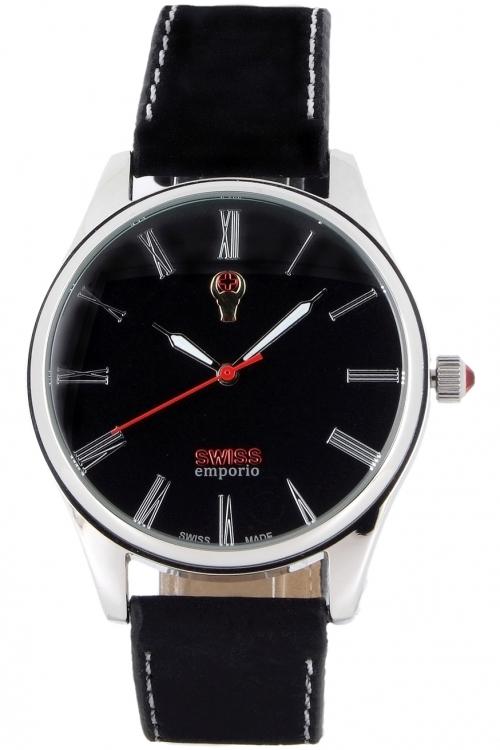Mens SWISSemporio Basel Watch SE02BKSL10