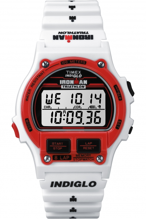 Mens Timex Ironman 8-Lap Full Size Alarm Chronograph Watch T5K839