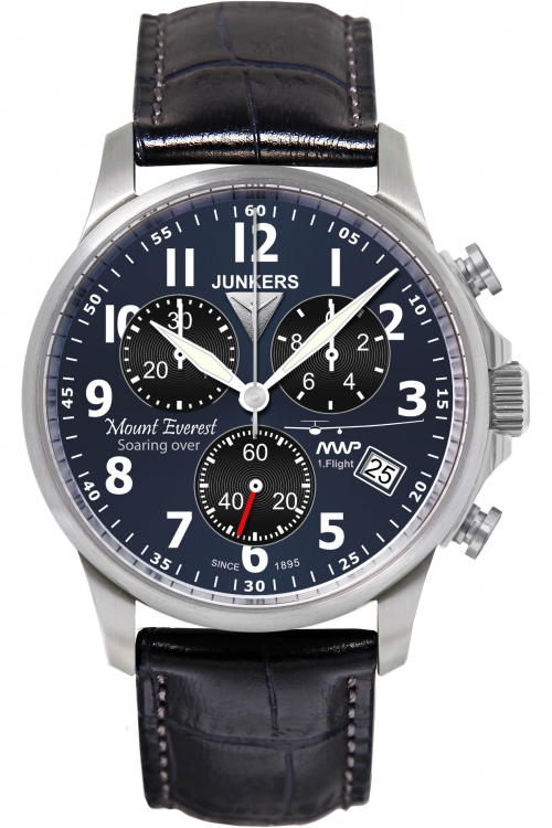 Mens Junkers Mountain Wave Project Chronograph Watch 6894-3
