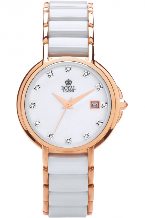 Ladies Royal London Ceramic Watch