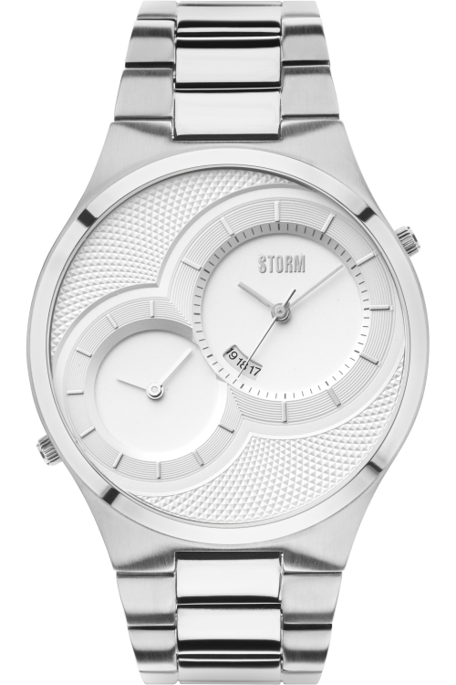 Mens Storm Duodex Watch DUODEX-SILVER