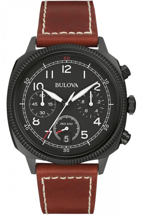 Mens Bulova Military UHF Chronograph Watch 98B245