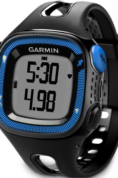 Mens Garmin Forerunner 10 GPS Heart Rate Monitor Bundle Alarm Chronograph Watch 010-01241-50