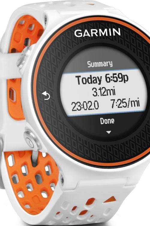 Mens Garmin Forerunner 620 GPS Alarm Chronograph Watch 010-01128-11