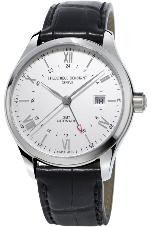 Mens Frederique Constant Classic Index GMT Automatic Watch FC-350S5B6