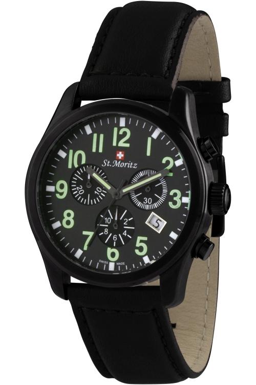 Mens Rotary St Moritz Chronograph Watch GS03608/19