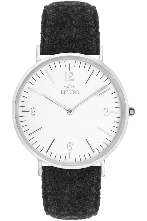 Unisex Birline Stornoway Silver Watch BIR002102