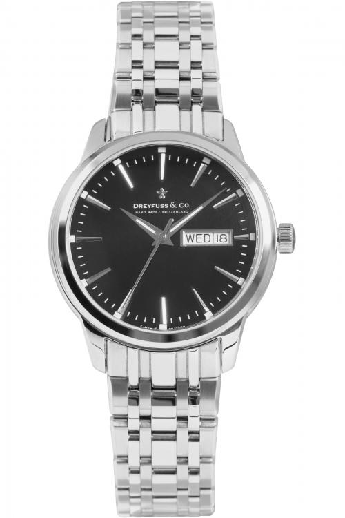 Mens Dreyfuss Co 1890 Utilitarian Watch DGB00125/04