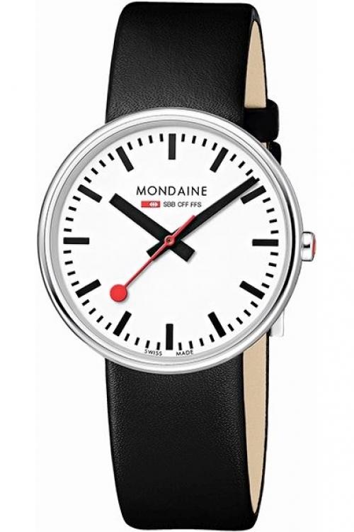 Mens Mondaine Swiss Railways Mini Giant Watch A7633036211SBB