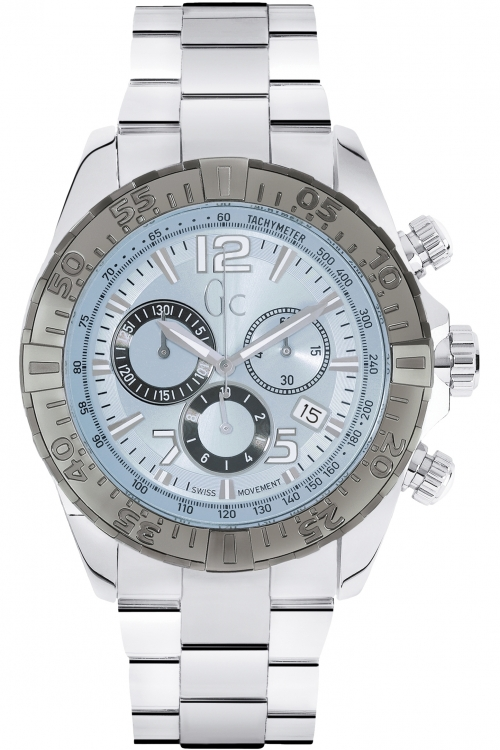 Mens Gc Sportracer Chronograph Watch Y02005G7