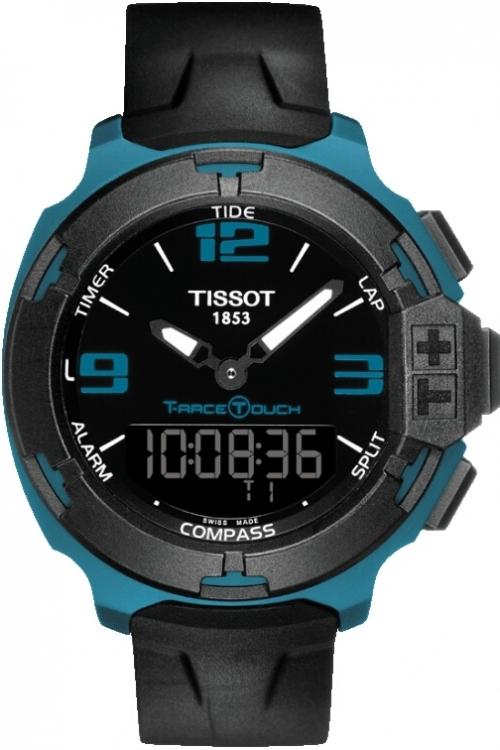 Mens Tissot T-Race Alarm Chronograph Watch T0814209705704