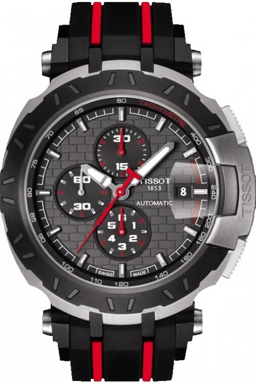 Mens Tissot T-Race MotoGP 2015 Limited Edition Automatic Chronograph Watch T0924272706100