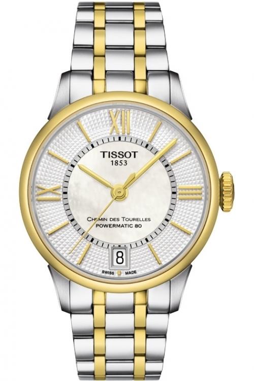 Ladies Tissot Chemin Des Tourelles Automatic Watch