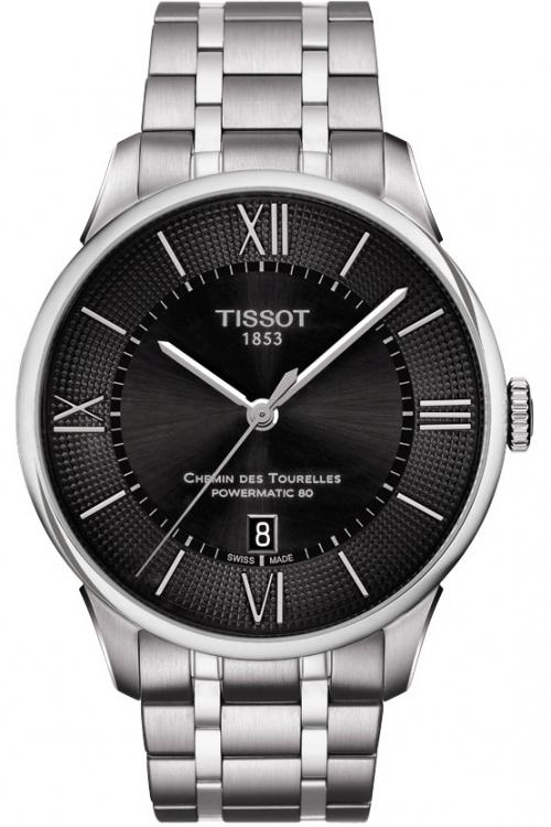 Mens Tissot Chemin Des Tourelles Automatic Watch T0994071105800